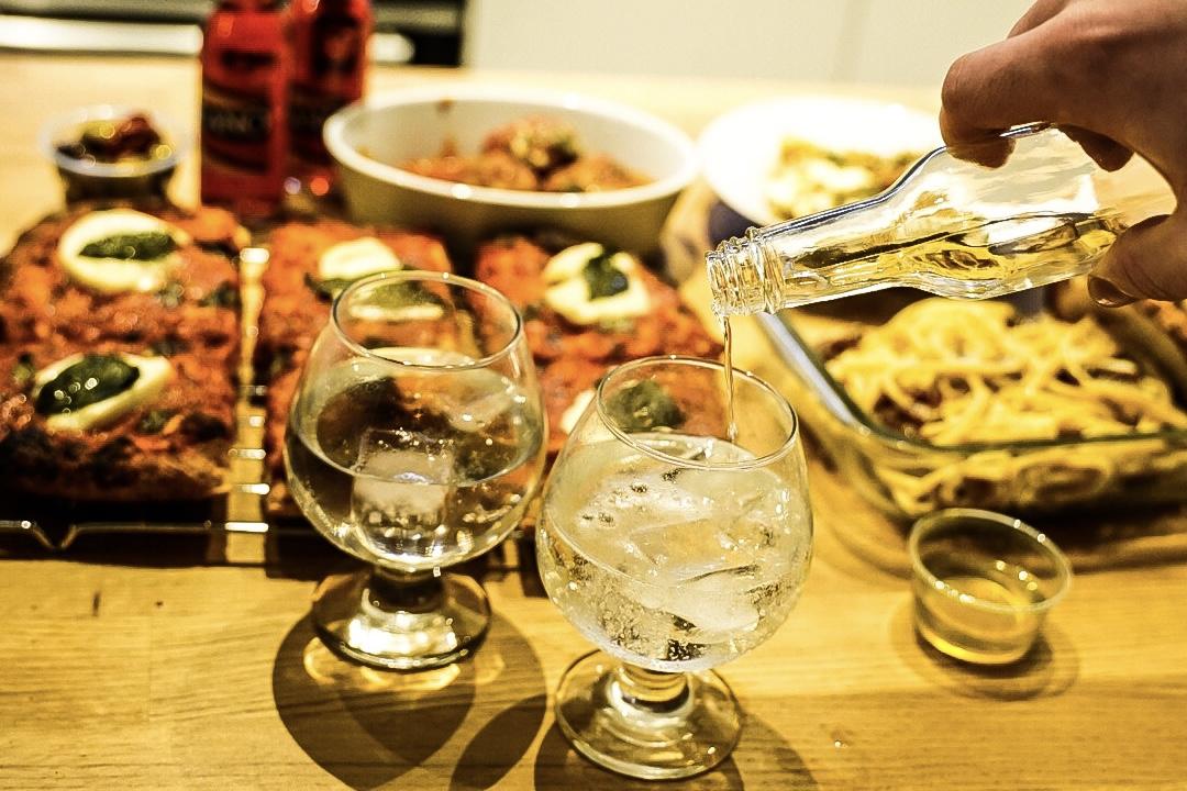 Martini Bianco Vermouth & Tonic